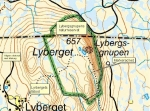 Lybergsgnupen 5 km t.o.r.